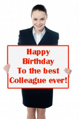 Birthday wishes for a colleague: Messages, greeting and quotes for a ...