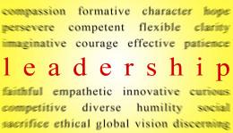 Describing a leader