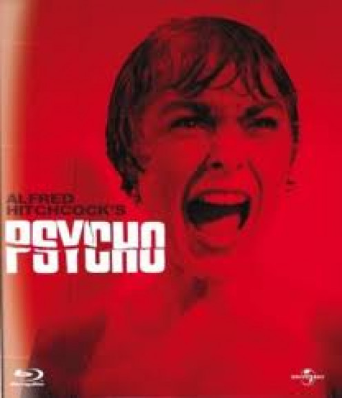 The horror classic, Psycho, is one of Alfred Hitchcock's best horror films. It is about a mentally deranged man dressing up like his mother and killing people.