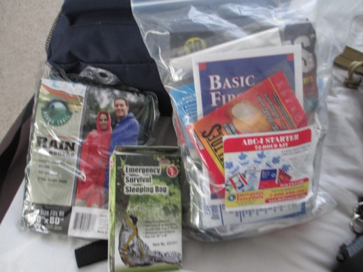 Additional bug out bag gear