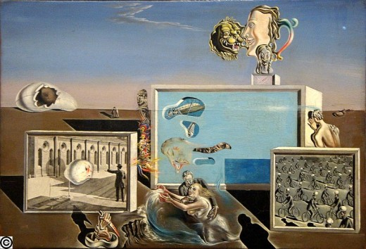 Illumined Pleasure by Dali