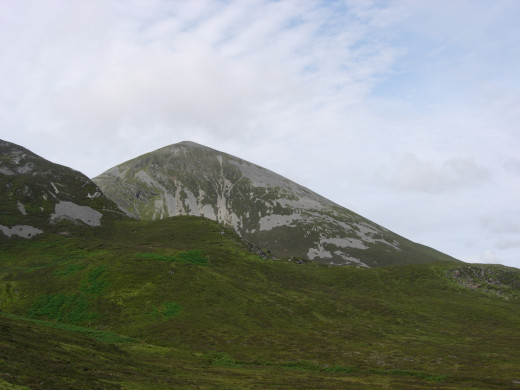 Croagh Patrick Irelands Holy Mountain named after Saint. Patrick himself.