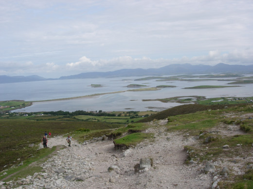 Croagh Patrick,Westport Co.Mayo Ireland