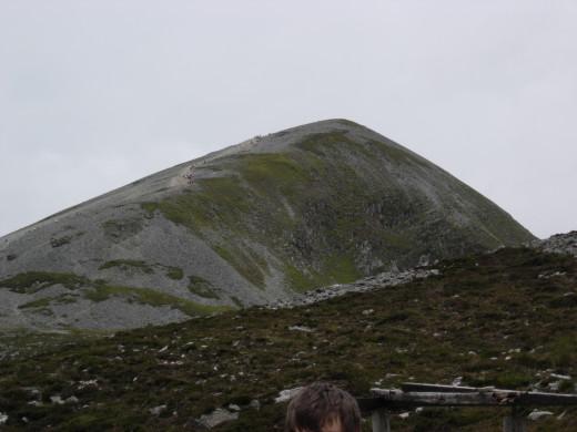 Croagh Patrick Irelands Holy Mountain-Murrisk,Westport Co.Mayo Ireland.