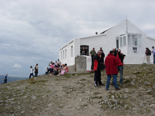 Chapel at the  top of Croagh Patrick