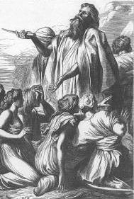 Samuel, mediator for the people.