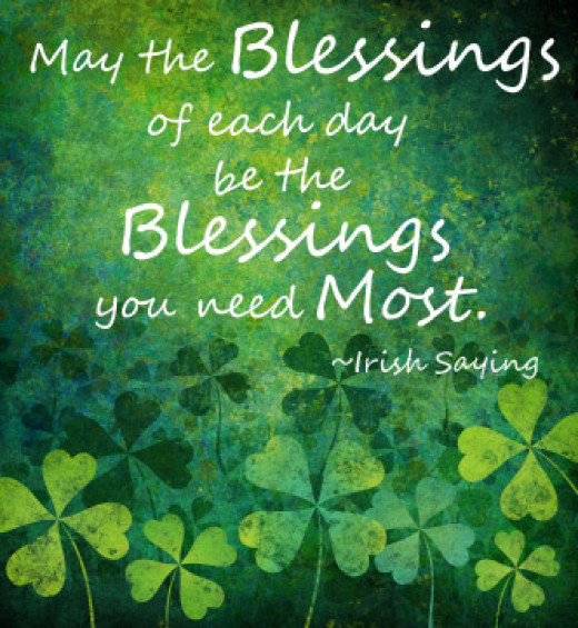 Image result for st patrick's day blessings images