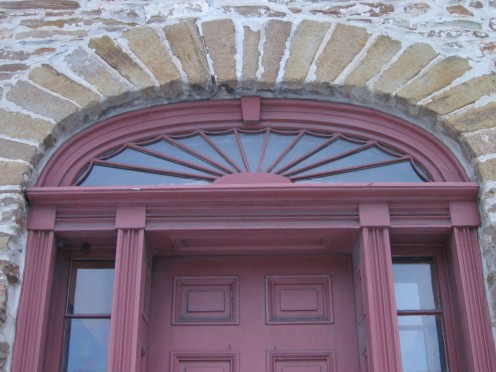 Montgomery's Inn door, Etobicoke