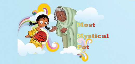 Most Mystical Pot : Story with Moral for Kids