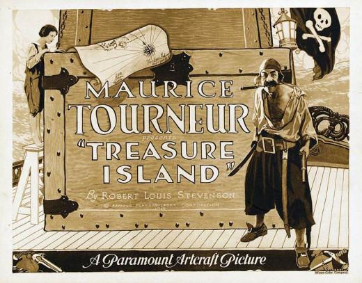 Treasure Island (1920) poster