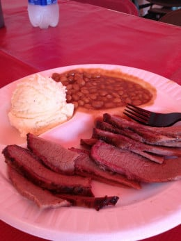 The Texas Beef Brisket is hard to top here at the South Florida Fair.  This is always on our list before heading home.