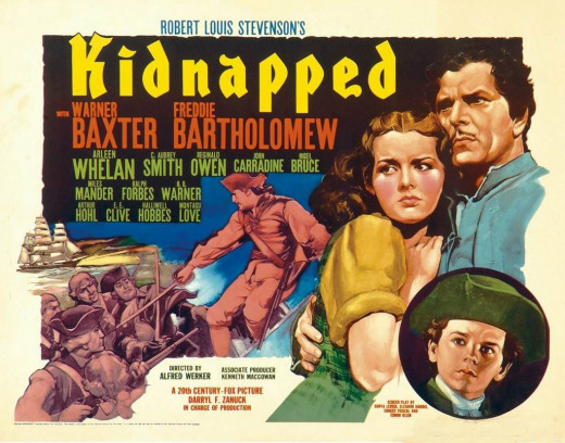 Kidnapped (1938) poster