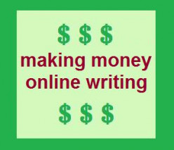 Making Money Online Writing