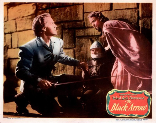 The Black Arrow (1948) Lobby card