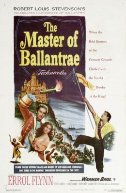 The Master of Ballantrae (1953) poster