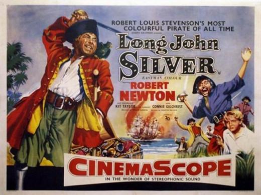 Long John Silver (1954) poster