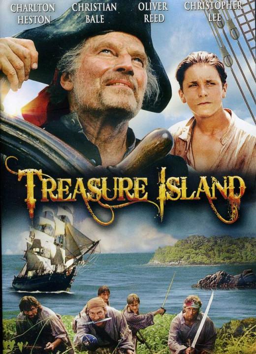 Treasure Island (1990) poster