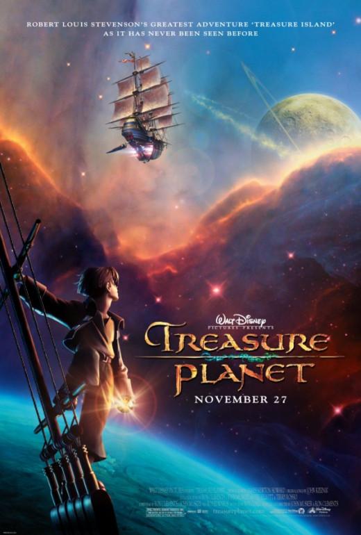 Treasure Planet (2002) poster