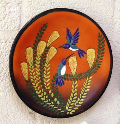 Ceramic Plate, Vega, Cuenca