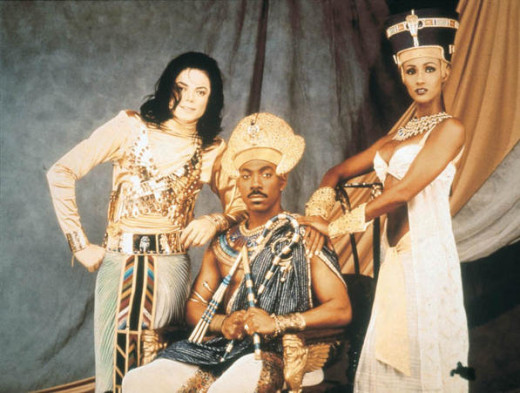 Michael Jackson (& Eddie Murphy)