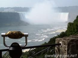 Viewing platform over looking Niagara Falls