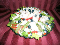 Tuna Blue Salad Recipe