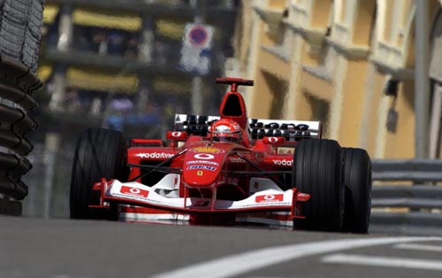 The Monaco Grand Prix is held in the streets of the city