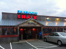 The Walkertown Seafood Shack is located at 2890 Darrow Road, Walkertown, NC.