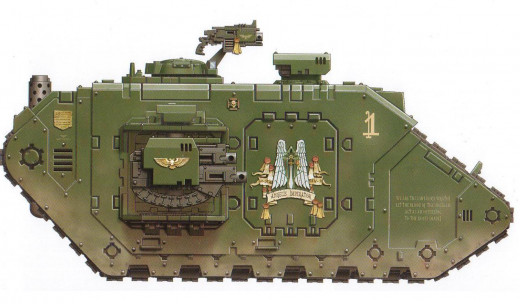 Dark Angels Landraider