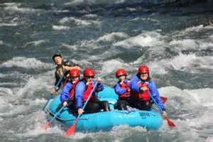 Whitewater rafting at White Salmon