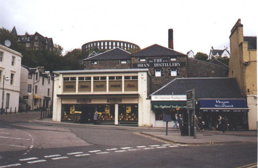 The Oban Distillery.