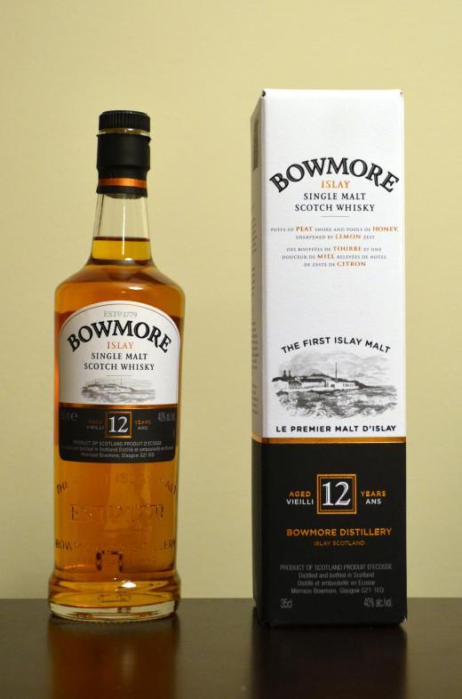 12 Years Bowmore Islay Single Malt Scotch Whisky