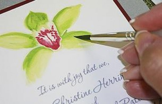 Handmade wedding invitations are a great option!