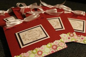 Low cost wedding invitations can be achieved by doing a work exchange.