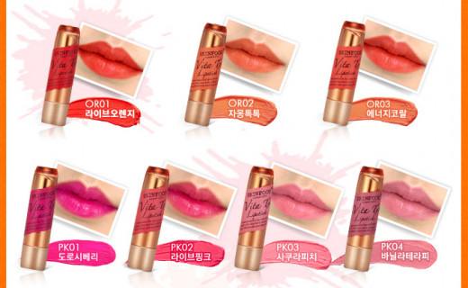 Lipstick shades.