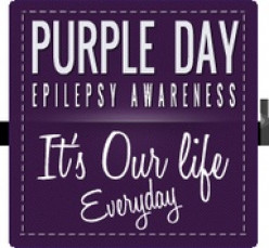 Purple Day/ Epilepsy Awareness Month!