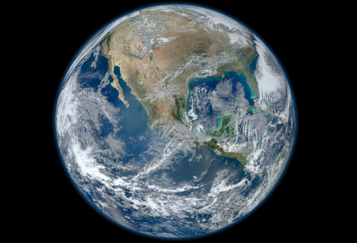 Earth is dominated by water. Rename it Planet Water