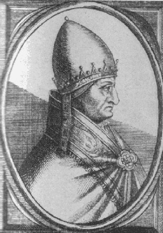 Anonymous portrait of Pope Gregory X
