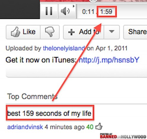 One of the funniest YouTube comments ever!