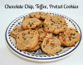Chocolate Chip Toffee Pretzel Cookie Recipe