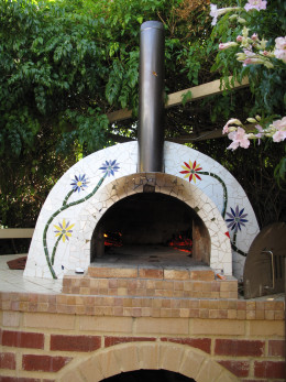 cooking in a low pizza oven produces an excellent result!