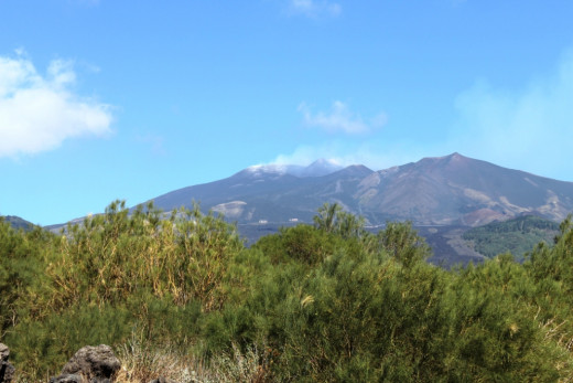 South face of Mount Etna.
