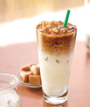 Iced Caffe Macchiato
