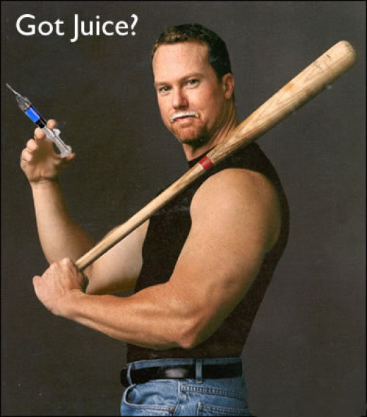 At least Mark McGwire can admit he used steroids...Barry Bonds isn't so big a man.