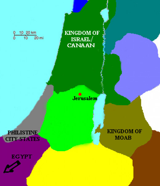 Abraham moved from Canaan to Egypt. Isaac moved from Canaan to Philistia. Naomi moved from Israel to Moab.