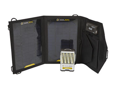 The Guide 10 Adventure kit is a good entry into portable solar electronics.