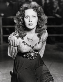 Maureen O' Hara in The Hunchack of Notre Dame (1939)