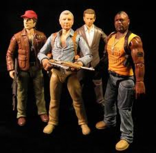 The A-Team television series spawned many products including toy action figures, lunch boxes and clothing.