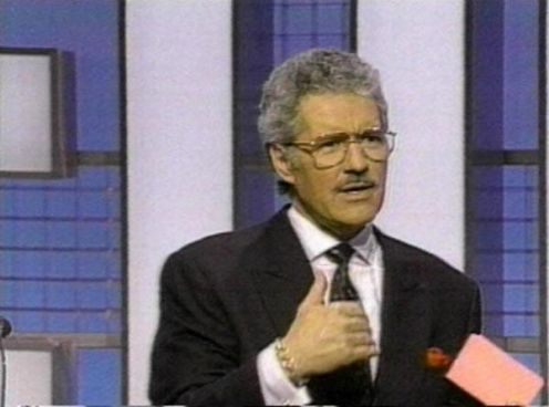 And here is your host, Alex Trebek!