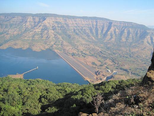 Balakwadi dam's view from Kate's Point